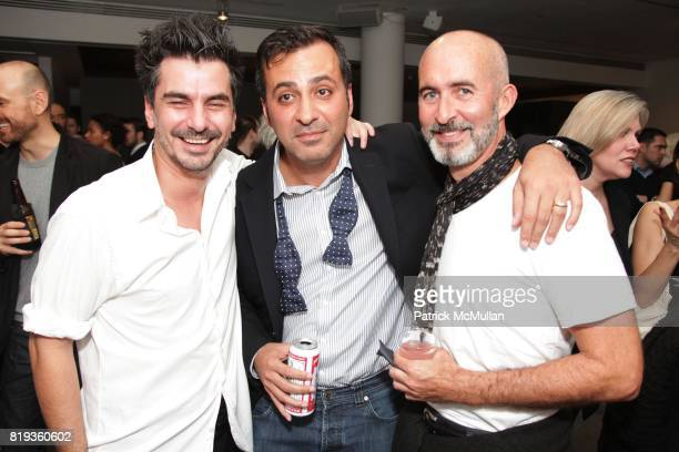 Arten Gjoni Mazdack Rassi and Tim O'Brien attend FOTORELIEF and A Milk Gallery Project organizes A Picture Saves A Thousand Lives at Milk Gallery on...