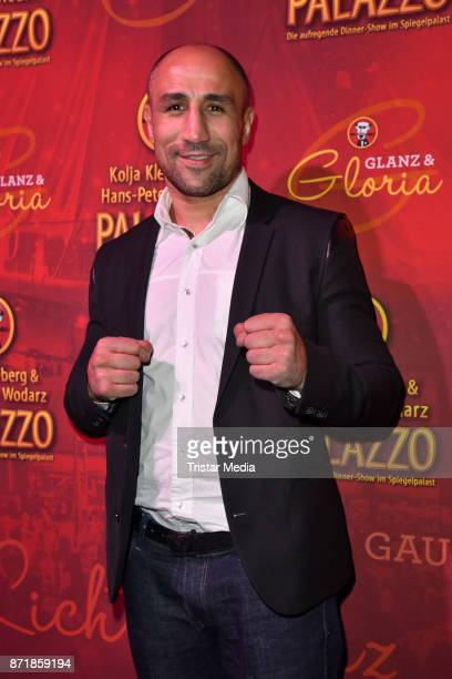 Arthur Abraham attends the Palazzo VIP premiere on November 8 2017 in Berlin Germany