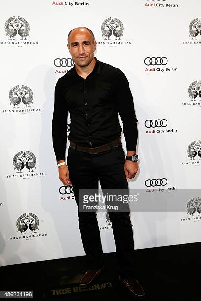 Arthur Abraham attends True Berlin by Shan Rahimkhan on September 2 2015 in Berlin Germany
