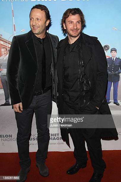 Arthur and Michael Youn attend 'Rien A Declarer' Paris Premiere at Cinema Pathe Quai D'Ivry on January 24 2011 in IvrysurSeine France
