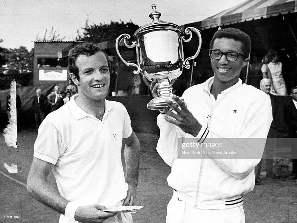 Arthur Ashe Makes U S Open History in 1968 September 9 1968