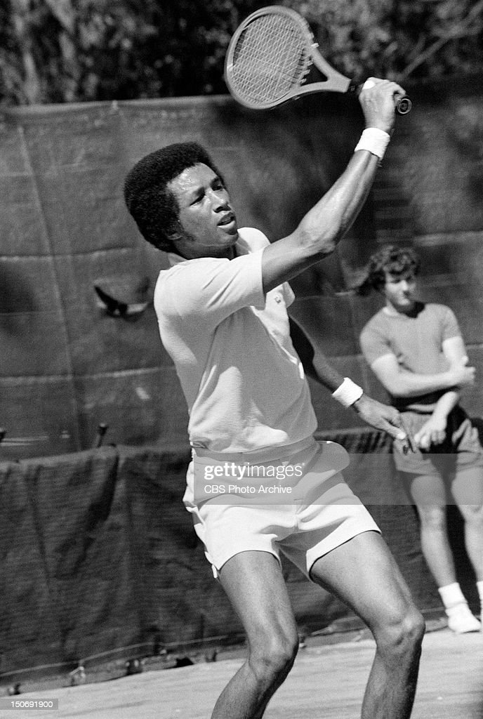 <a gi-track='captionPersonalityLinkClicked' href=/galleries/search?phrase=Arthur+Ashe&family=editorial&specificpeople=215183 ng-click='$event.stopPropagation()'>Arthur Ashe</a> playing tennis in Hilton Head, South Carolina, March 21, 1972.