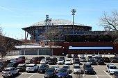 Arthur Ashe Stadium in Flushing New York on April 16 2016