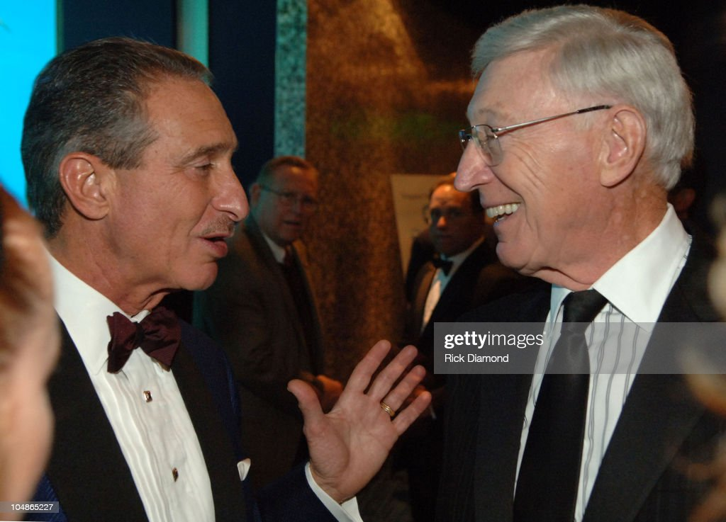 <a gi-track='captionPersonalityLinkClicked' href=/galleries/search?phrase=Arthur+Blank&family=editorial&specificpeople=1278336 ng-click='$event.stopPropagation()'>Arthur Blank</a> and Bernie Marcus during The Georgia Aquarium Hosts 'The Big Splash' Benefiting The Marcus Institute at Georgia Aquarium in Atlanta, Georgia, United States.