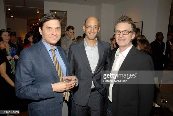 Arthur Chabon Peter Sallick and Glen Gissler attend Rose Tarlow Peter Sallick and Meg Touborg Invite You For Cocktails in The New Rose Tarlow Melrose...