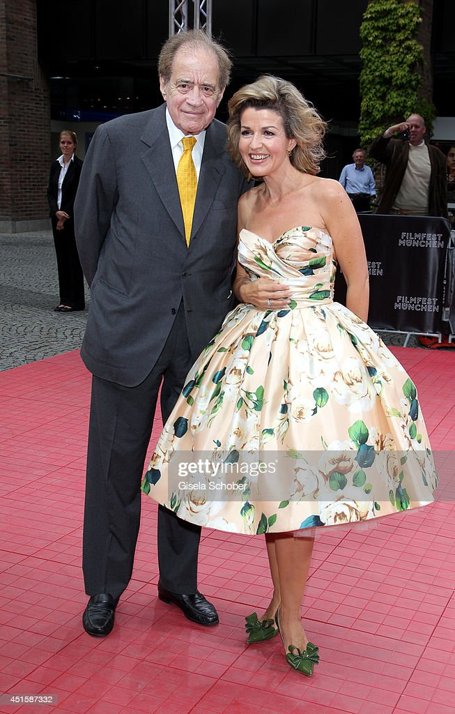 <a gi-track='captionPersonalityLinkClicked' href=/galleries/search?phrase=Arthur+Cohn&family=editorial&specificpeople=765188 ng-click='$event.stopPropagation()'>Arthur Cohn</a> and Anne Sophie Mutter attend the 'Gala Abend mit <a gi-track='captionPersonalityLinkClicked' href=/galleries/search?phrase=Arthur+Cohn&family=editorial&specificpeople=765188 ng-click='$event.stopPropagation()'>Arthur Cohn</a>' - as part of Filmfest Muenchen 2014 at Gasteig on July 1, 2014 in Munich, Germany