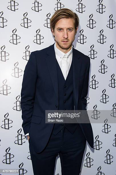 Arthur Darvill attends Amnesty International UK celebrate 10th anniversary of headquaters on June 3 2015 in London England