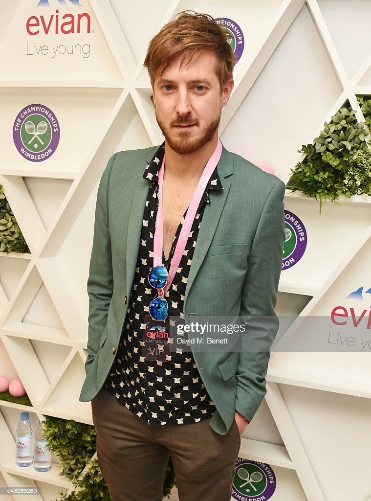 <a gi-track='captionPersonalityLinkClicked' href=/galleries/search?phrase=Arthur+Darvill&family=editorial&specificpeople=7643112 ng-click='$event.stopPropagation()'>Arthur Darvill</a> attends the evian Live Young suite during Wimbledon 2016 at the All England Tennis and Croquet Club on June 27, 2016 in London, England.
