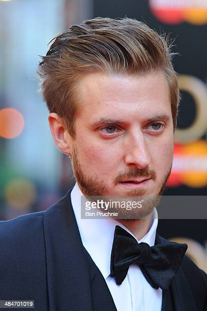 Arthur Darvill attends the Laurence Olivier Awards at The Royal Opera House on April 13 2014 in London England