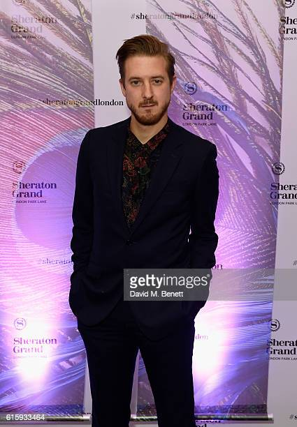 Arthur Darvill attends the Sheraton Grand London Park Lane launch party on October 20 2016 in London England