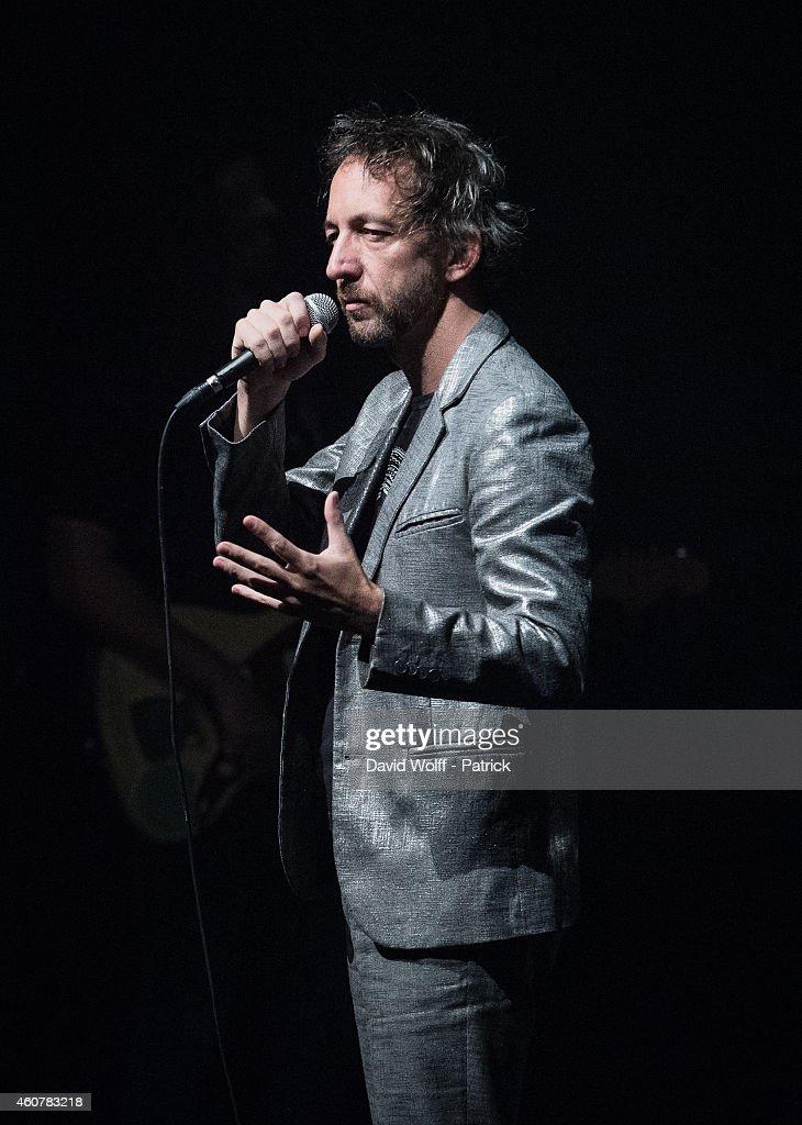 Arthur H Performs At Casino De Paris
