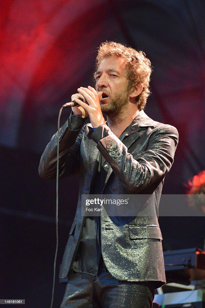 Arthur H In Concert For Fnac Live Festival 2012