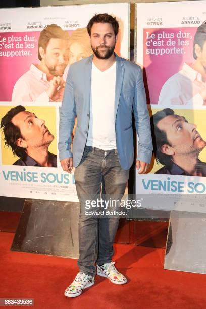 Arthur Jugnot during the 'Venise Sous La Neige' Paris Premiere at UGC Cine Cite des Halles on May 15 2017 in Paris France