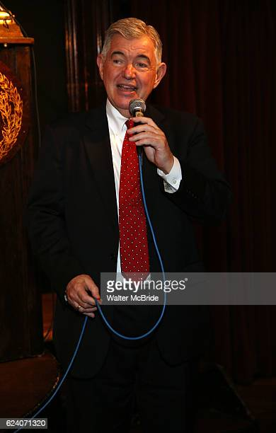 Arthur Makar attends the 2016 Helen Hayes Award Dinner honoring Barbara Cook at The Players Club on November 17 2016 in New York City