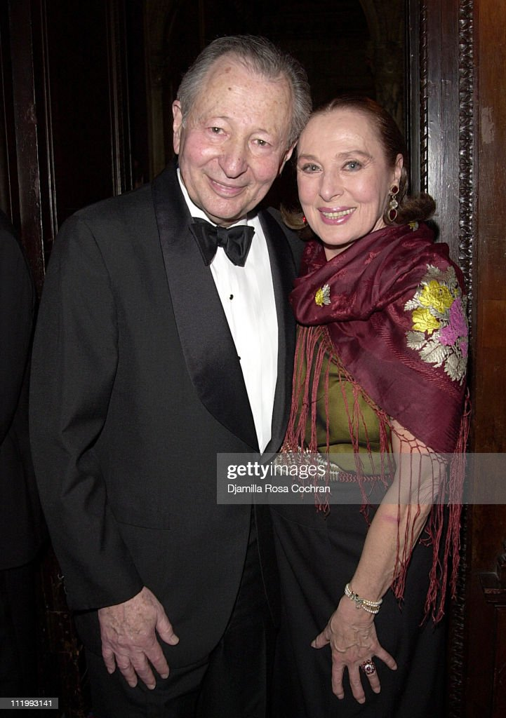 Arthur Manson and Rita Gam during New York Oscar Night Party at Le Cirque 2000 in New York City, New York, United States.