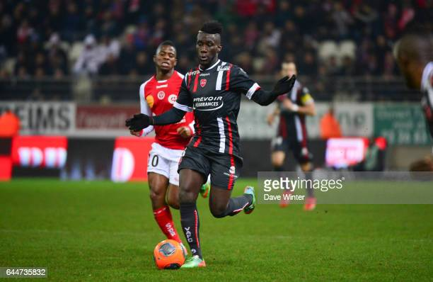 Arthur MASUAKU Reims / Valenciennes 27eme journee de Ligue 1 Photo Dave Winter / Icon Sport