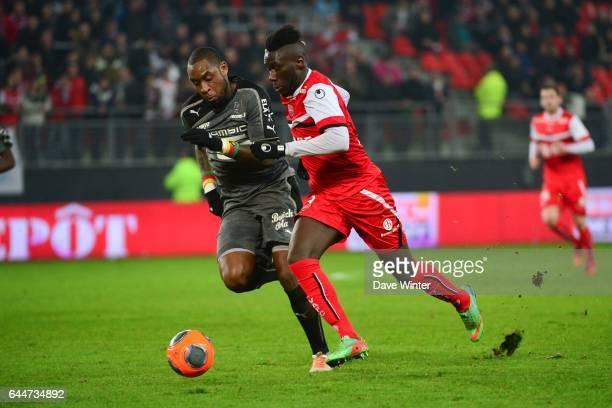 Arthur MASUAKU / JeanArmel KANABIYIK Valenciennes / Rennes 28e journee Ligue 1 Photo Dave Winter / Icon Sport