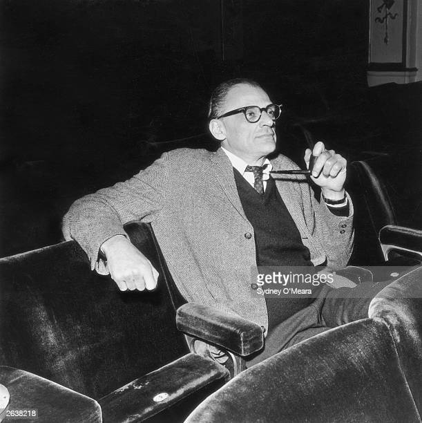 Arthur Miller American playwright and one time husband to Marilyn Monroe from whom he was divorced in 1961