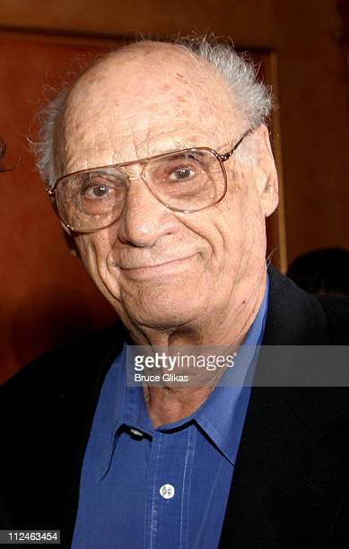 Arthur Miller playwright during 'After The Fall' Broadway Opening Night After Party at BB Kings in New York City New York United States