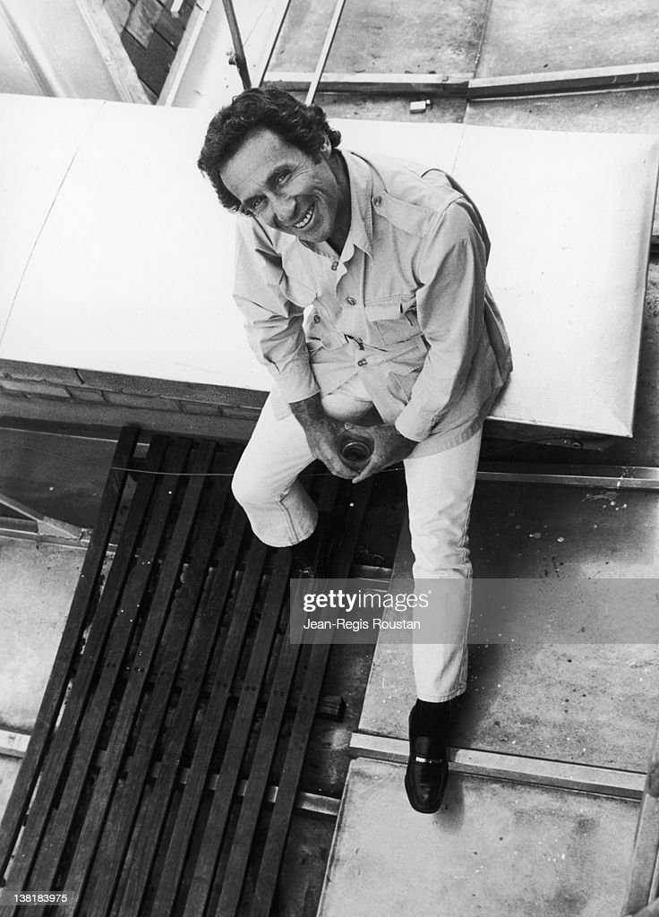 Arthur Penn American director Paris on August 4 1976