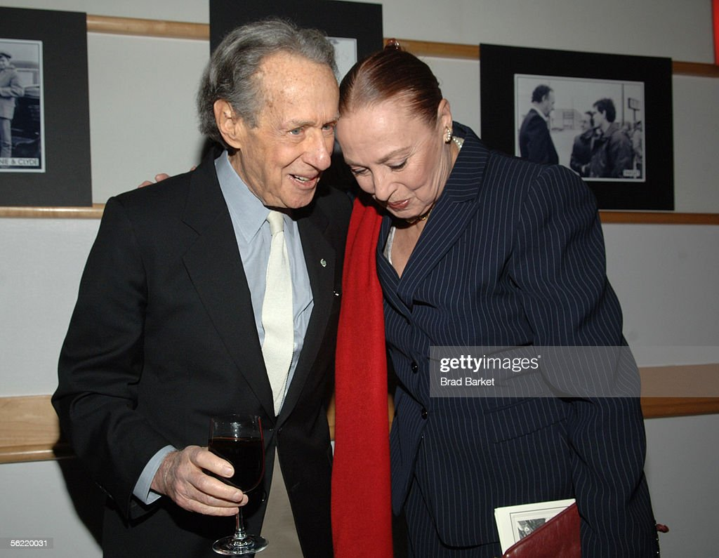 Arthur Penn and actress Rita Gam are seen at the Academy Pays Tribute To Arthur Penn at the Academy Theater at Lighthouse International on November 17, 2005 in New York City.