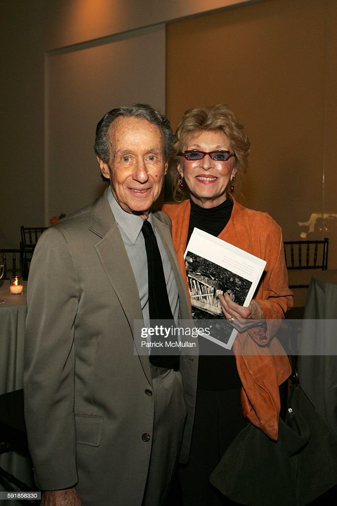 Arthur Penn and Peggy Penn attend A Private Screening of Warner Independent Pictures 'Good Luck Good Night' at Time Warner Theatre on October 5 2005...