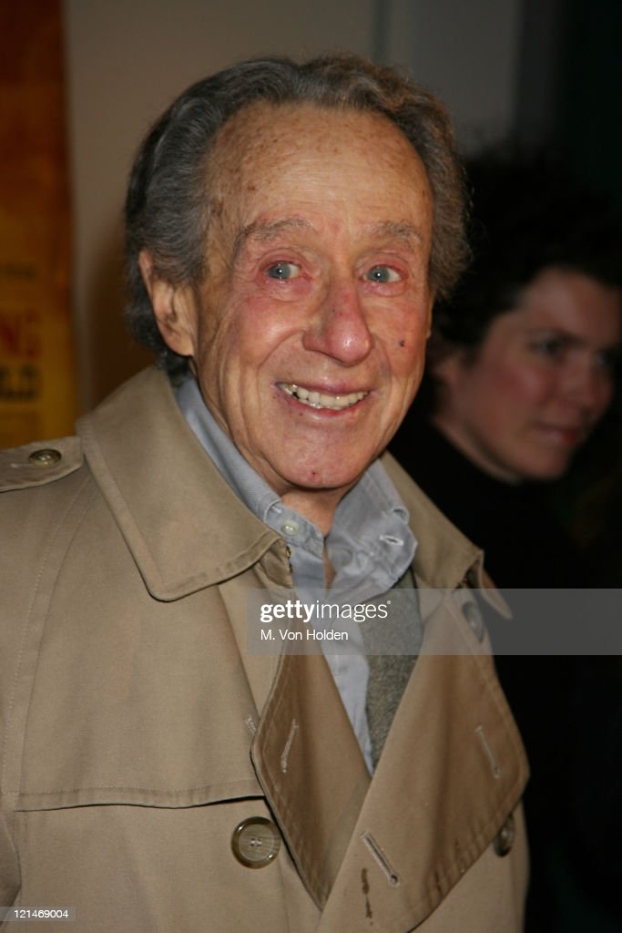 Arthur Penn during Special Screening of ' Neil Young Heart of Gold' New York City at Walter Reade Theater in New York City New York United States