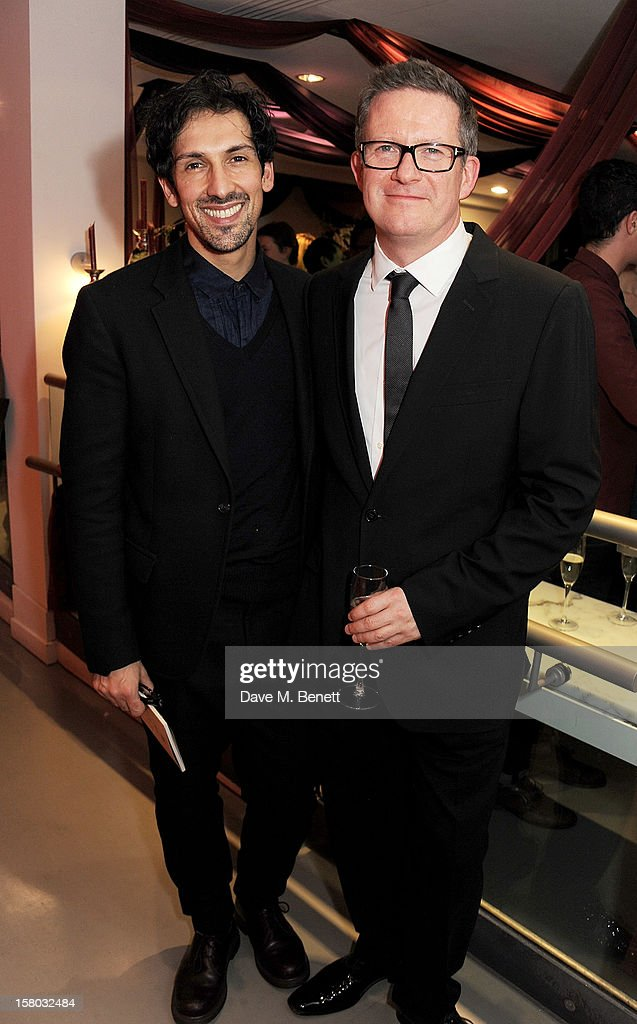 Arthur Pita (L) and <a gi-track='captionPersonalityLinkClicked' href=/galleries/search?phrase=Matthew+Bourne&family=editorial&specificpeople=627350 ng-click='$event.stopPropagation()'>Matthew Bourne</a> attend an after party following the press night performance of <a gi-track='captionPersonalityLinkClicked' href=/galleries/search?phrase=Matthew+Bourne&family=editorial&specificpeople=627350 ng-click='$event.stopPropagation()'>Matthew Bourne</a>'s Sleeping Beauty at Sadler's Wells Theatre on December 9, 2012 in London, England.