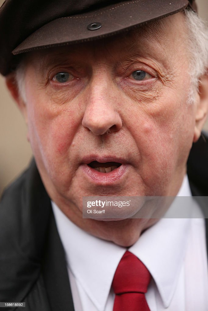 <a gi-track='captionPersonalityLinkClicked' href=/galleries/search?phrase=Arthur+Scargill&family=editorial&specificpeople=239195 ng-click='$event.stopPropagation()'>Arthur Scargill</a>, the former leader of the National Union of Mineworkers, leaves the Royal Courts of Justice on December 21, 2012 in London, England. Mr Scargill has lost his High Court battle for the union to continue to pay for his London flat in the Barbican. He was president of the NUM until July 2002 and led it during the miners' strike from 1984 to 1985.