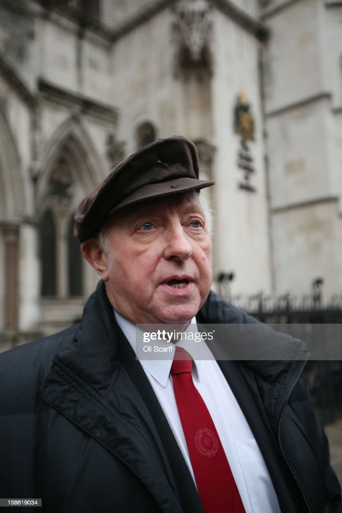 <a gi-track='captionPersonalityLinkClicked' href=/galleries/search?phrase=Arthur+Scargill&family=editorial&specificpeople=239195 ng-click='$event.stopPropagation()'>Arthur Scargill</a>, the former leader of the National Union of Mineworkers, leaves the Royal Courts of Justice on December 21, 2012 in London, England. Mr Scargill has lost his High Court battle for the union to continue to pay for his London flat in the Barbican. He was president of the NUM until July 2002 and led it during the miners' strike from 1984 to 1985..