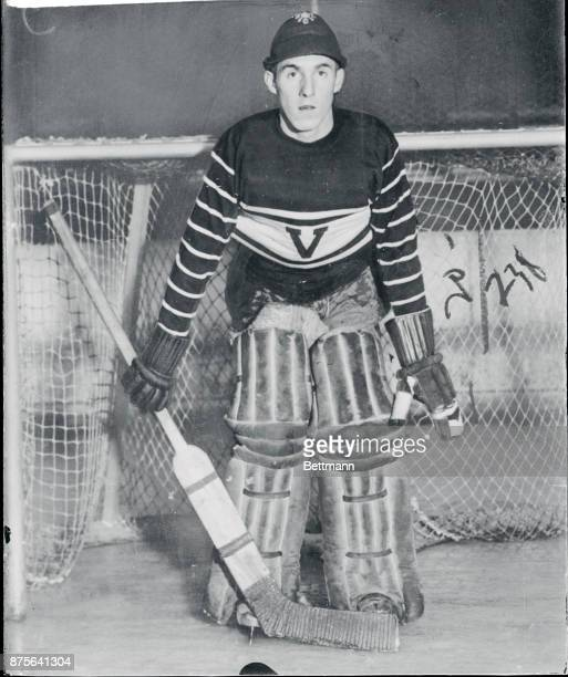 Arthur Shortall Wearing Hockey Uniform