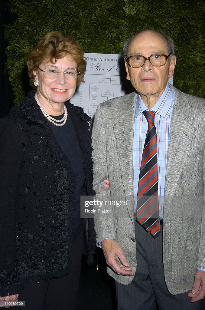Arthur Sulzberger and wife during The 51st Annual Winter Antiques Show Opening Night Benefitting The East Side House Settlement at The Seventh...