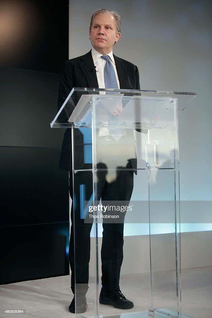 Arthur Sulzberger Jr publisher The New York Times and chairman The New York Times Company speaks onstage during The New York Times DealBook...