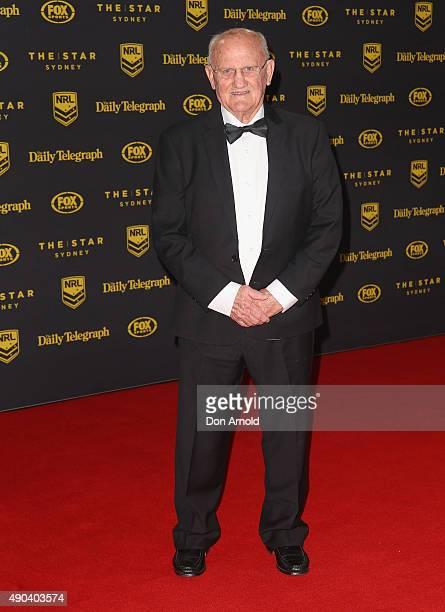 Arthur Summons arrives at the 2015 Dally M Awards at Star City on September 28 2015 in Sydney Australia