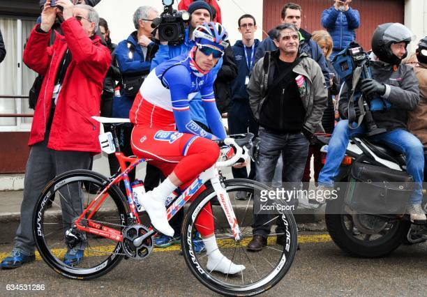 Arthur Vichot of Fdj during the stage 1 of the Etoile of Besseges on February 1 2017 in Beaucaire France