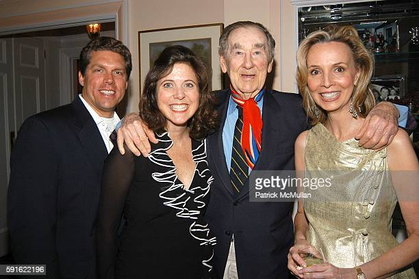 Arthur Ward Kristina Stewart Slim Aarons and Dr Jana Klauer attend the Klauer family celebrates the marriage of Kristina Stewart and Arthur Ward at...