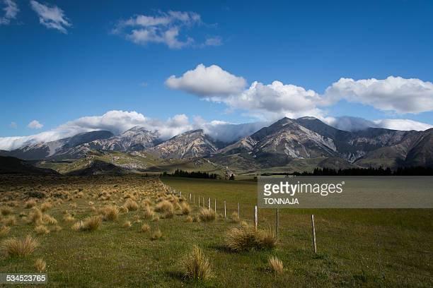 Arthur's Pass of South Island, New Zealand