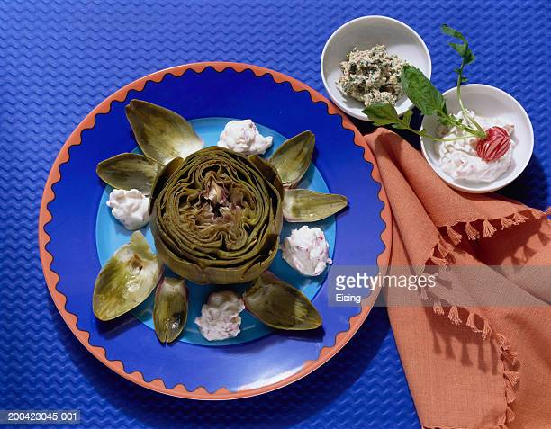 Artichokes with Dips