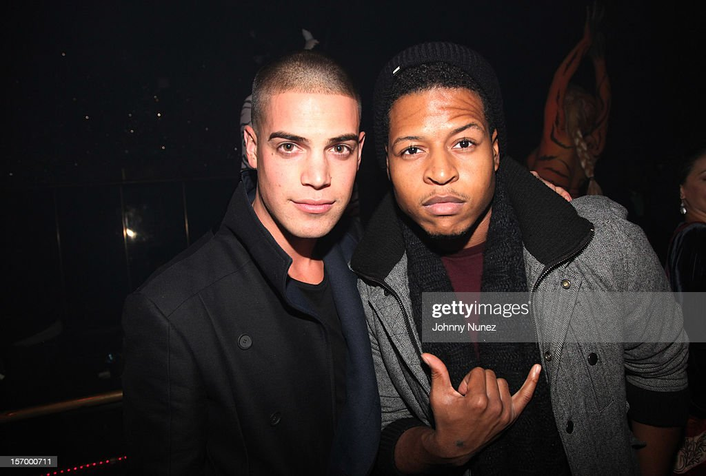 Artie Kenney and Mackey attend Wiz Khalifa's 'O.N.I.F.C.' Listening Party at The West Way on November 26, 2012 in New York City.