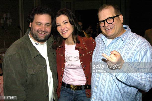 Artie Lange Drew Carey and Laura Kightlinger *Exclusive*