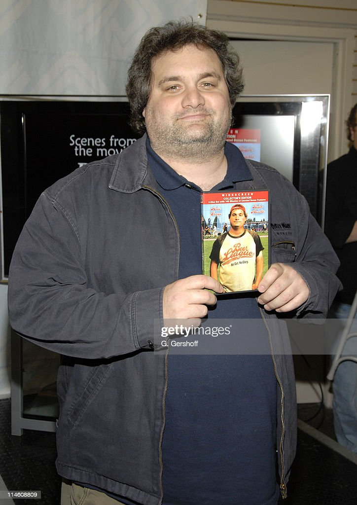 Artie Lange during Artie Lange Celebrates the Release of 'Beer League' DVD with Autograph Signing at JR Music January 9 2007 at J R Music in New York...