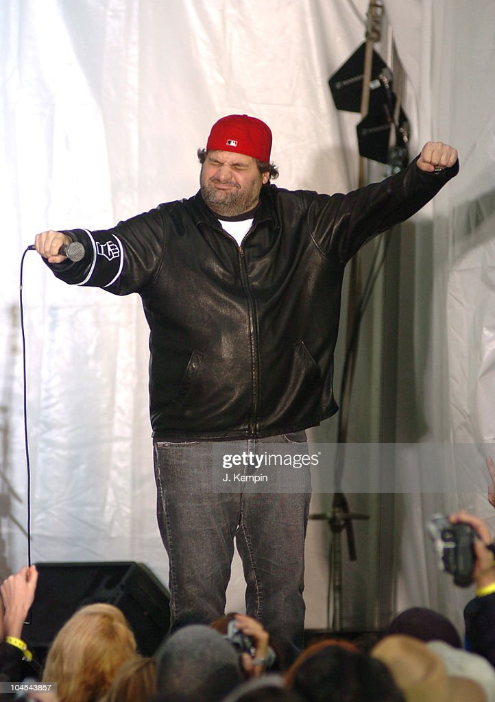 Artie Lange during Howard Stern Farewell KRock Radio Broadcast at 56th Street in New York City New York United States