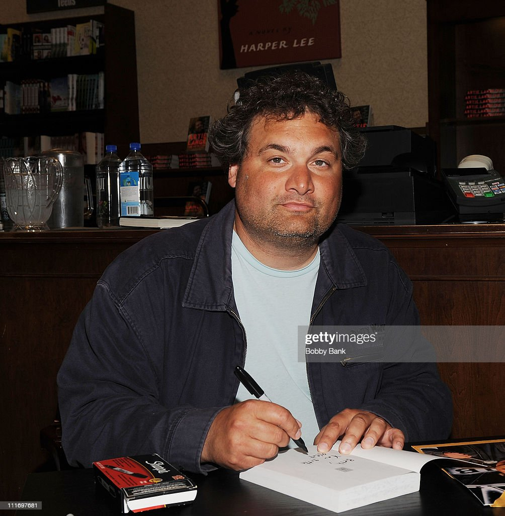Artie Lange promotes the paperback edition of 'Too Fat to Fish' at Barnes Noble Market Fair on June 2 2009 in Princeton New Jersey