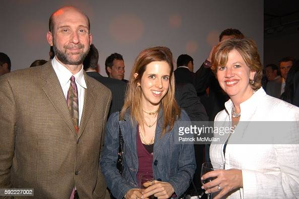 Artie Scheff and Abbe Raven attend New York Television Festival Opening Night Party at Phillips on September 28 2005 in New York City