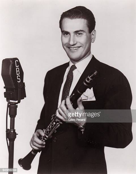 Artie Shaw poses for a studio portrait in 1936