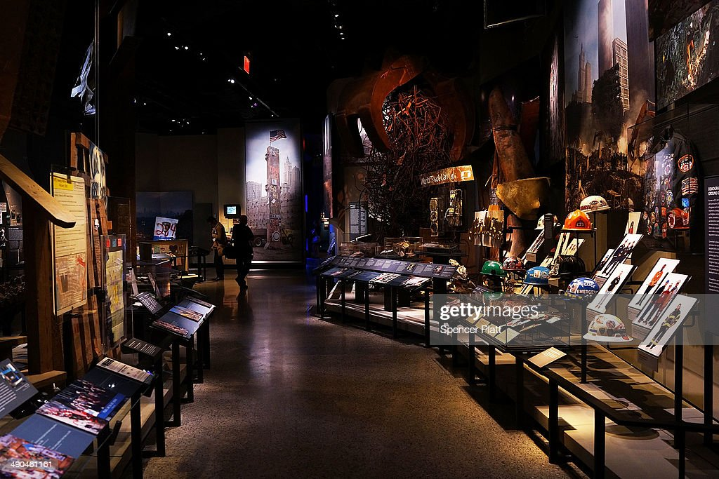 Artifacts from Ground Zero are viewed during a preview of the National September 11 Memorial Museum on May 14, 2014 in New York City. The long awaited museum will open to the public on May 21 following a six-day dedication period for 9/11 families, survivors, first responders, workers, and local city residents. For the dedication period the doors to the museum will be open for 24-hours a day from May 15 through May 20. On Thursday President Barack Obama and the first lady will attend the dedication ceremony for the opening of the museum. While the construction of the museum has often been fraught with politics and controversy, the exhibitions and displays seek to pay tribute to the 2,983 victims of the 9/11 attacks and the 1993 bombing while also educating the public on the September 11 attacks on the World Trade Center, the Pentagon and in Pennsylvania.