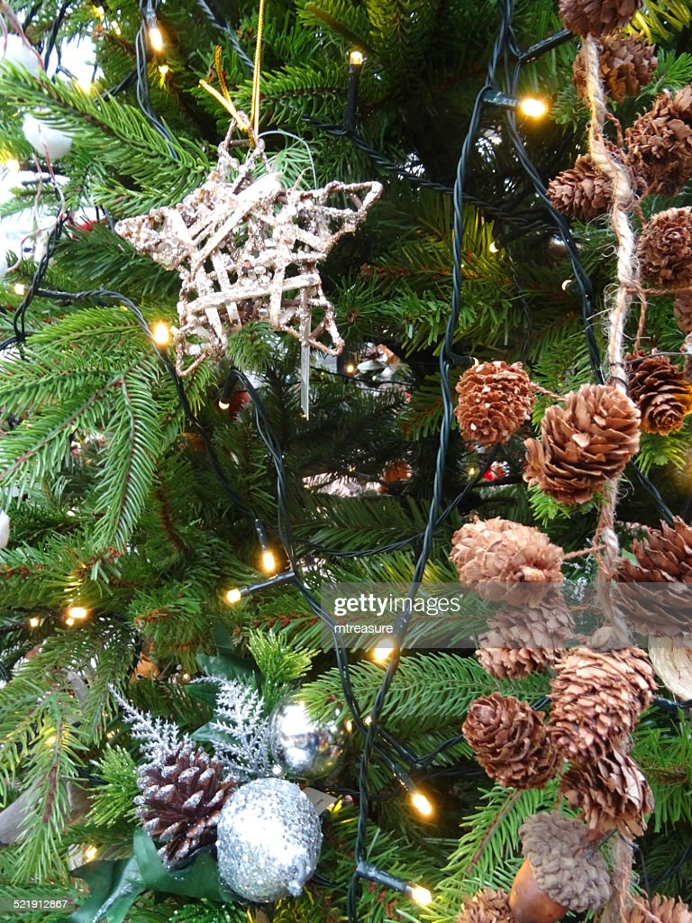 Silver Artificial Christmas Tree. Affordable Balsam Hills Christmas ...