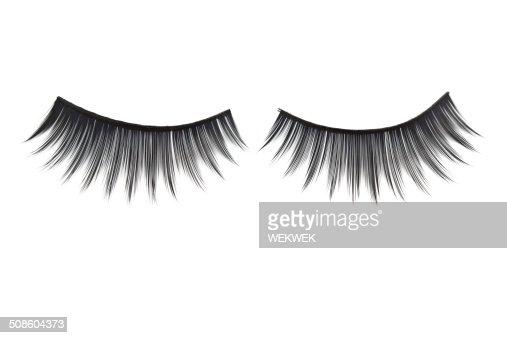 Artificial Eyelashes : Stock Photo