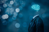 Artificial intelligence (AI), brainstorming, data mining, expert system software, genetic programming, machine learning, deep learning, neural networks and another modern computer technologies concept