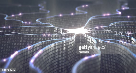 Artificial Intelligence Neural Network : Stock Photo